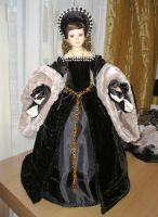 Anne Boleyn Doll by Walaby1969