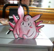 Paperchild 94. Pokemon#36 - Clefable by FuriarossaAndMimma