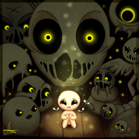 The Binding of Isaac - My Insanity, My Fate by MereldenWinter