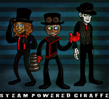 Steam Powered Giraffe by DisforDelirium