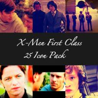 25 X-Men First Class Icon Pack by emmyxogats