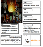 Pros and Cons- Season of the Skull by GiLaw77