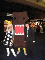 Domo kun cosplay by whitestarflower