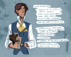 character profile - luca by chirart