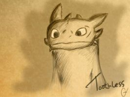 toothless by Gatewhale