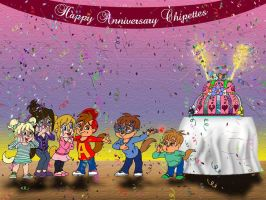 The Chipettes Anniversary by Peacekeeperj3low