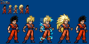 [JUSLite] Future Gohan: All Forms by SuperShadiw1010