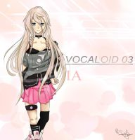 Vocaloid 03 - IA by NyappySofie