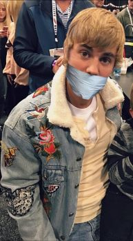 Justin Bieber Tapegagged by DuctTape135