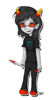 Terezi Pyrope by abstractcat17