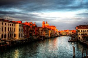 Venice at Sunset by lostie815