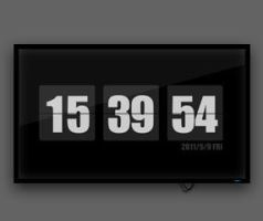 Flip Clock Screensaver by alexzhu