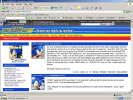 sonic100:070 LiveJournal by thweatted