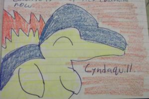 Old Cyndaquil Drawing by FlyingLion76