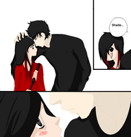 The ReaDe- Shade's Almost First Kiss by MysteriousKitsune