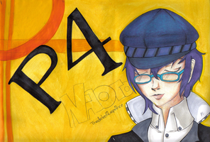 The Detective Prince :P4Naoto: by CaptainKurfuffle