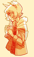 pearl milk tea for the melancholy by Koukouvayia