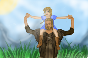 Ulfric and Valkyrie by periapt-talisman