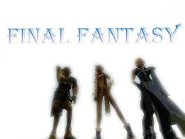 final fantasy by christ139