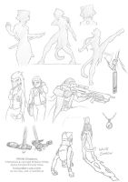 WS - Sketch dump 3 by funkyalien