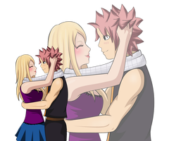 NaLu - Your smile ... :) by NIIIGATA