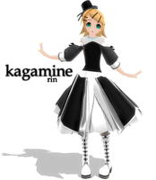 newcomer - kagamine rin by Count-L