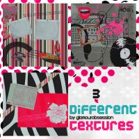 3 different textures by GlamourObsession