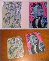Toned art-cards AVAILABLE to order! by Nanuka