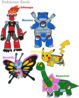 Pokemon Zords by MCsaurus