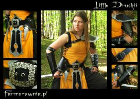 Little Druchi -small armor set by farmerownia