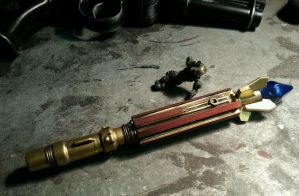 8th Doctor Sonic Screwdriver variant progress by JohnsonArms