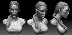 Daily Sculpt - VGC Lara by Ruloc