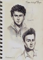 Teen Wolf Boys:Scott and Jackson by psichodelicfruit