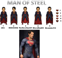 Men of Steel by MicroTraceour