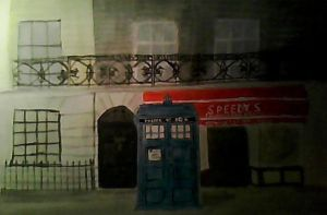 Tardis On Baker street by catgirl2251