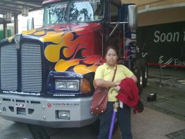 Me and Optimus Prime 1 by MissNellie