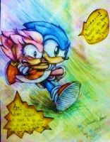 Hold on tight! - Colour pencil by MissTangshan95