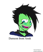 Dameon- from Anuk (human disguise) by Darkwolfhellhound