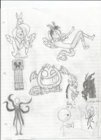 Doodles by uniquecomicfreak2580