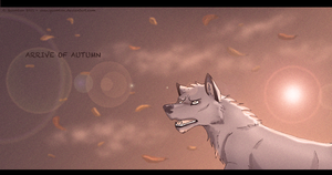falling leaves by Quomlon
