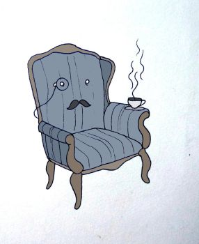 armchair in color by PITY-ME-LIKL