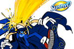 SONIC UNLEASHED THE POWER OF THE SUN by knockabiller