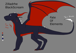 [FINISHED] [Fate of Elements]Zilladhre ref sheet by FrozenScales
