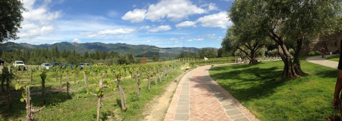Castello di Amorosa- view of the land by Shadowlion2