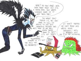 Early uses the Death Note by CoachFieldsOfNOLA