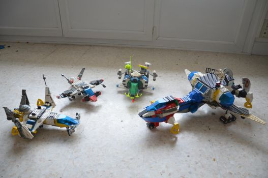 Aircrafts and Spacecrafts by Soliett