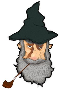 Gandalf by ZombieCure