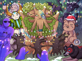 Christmas Event picture 3 - In Forest by keterok