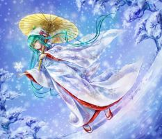 snow miku 2013 by tandolcedeco