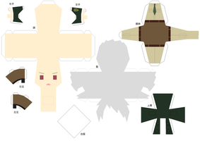 Hell/Police Prussia papercraft by DandelmiNia